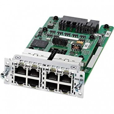 Cisco NIM-ES2-4= 4 Port Layer 2 Ge Switch Networking Device