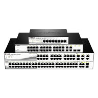 Fast Ethernet Smart Managed Switches DES-1210 Series