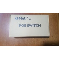 NETPRO 4PORT POE SWITCH 10/100. + 2uplink