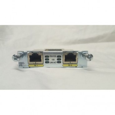 Cisco Cisco HWIC-2FE 2 Port Fast Ethernet High Speed WIC Card