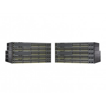 Cisco Catalyst WS-C2960X-48FPS-L 48 Port 10/100 Switch