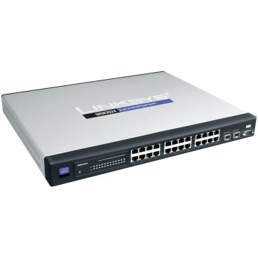 Cisco SRW2024 24-port Gigabit Switch - WebView
