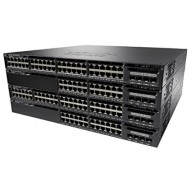 CISCO Catalyst WS-C3650-24PS-S Ethernet Switch / 24 Ports - Manageable - 24 x POE+ - 4 x Expansion Slots - 10/100/1000Base-T - Rack-mountable / WS-C3650-24PS-L /