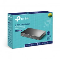 8-Port 10/100Mbps Desktop Switch with 4-Port PoE TL-SF1008P