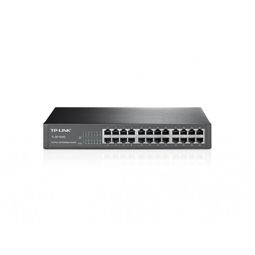 24-port 10/100Mbps Desktop/Rackmount Switch TL-SF1024D