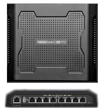 TS-8-PRO - Ubiquiti TOUGHSwitch Pro 8-Port PoE Switch